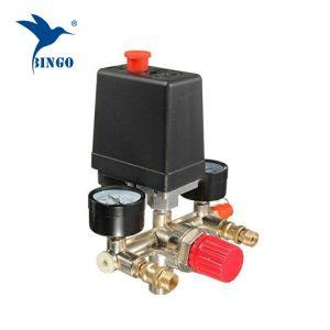 Διακόπτης πίεσης συμπιεστή αέρα 125psi 1 με ρυθμιστικό ρυθμιστή