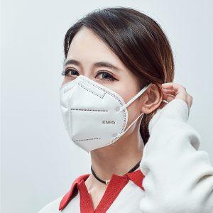 n95 Μάσκα μίας χρήσης για την πρόληψη νέφους, την πρόληψη σκόνης και την ελεύθερη αναπνοή