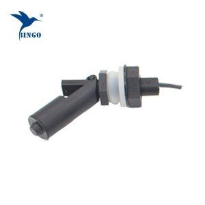 Σύνδεση με σπείρωμα M16 μαύρο οριζόντιο ηλεκτρικό πλωτό διακόπτη νερού για διανομέα νερού