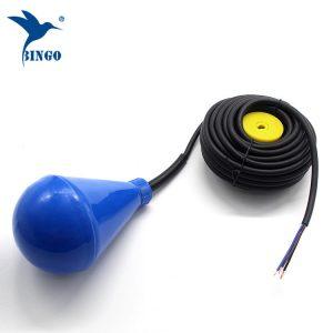Σωληνωτός μεταγωγικός διακόπτης στάθμης δεξαμενής νερού με καλώδιο PVC